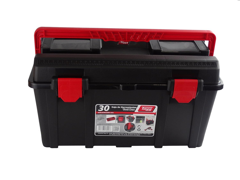Tayg 131004 Caja herramientas pl/ástico n/º 31 445 x 235 x 230 mm