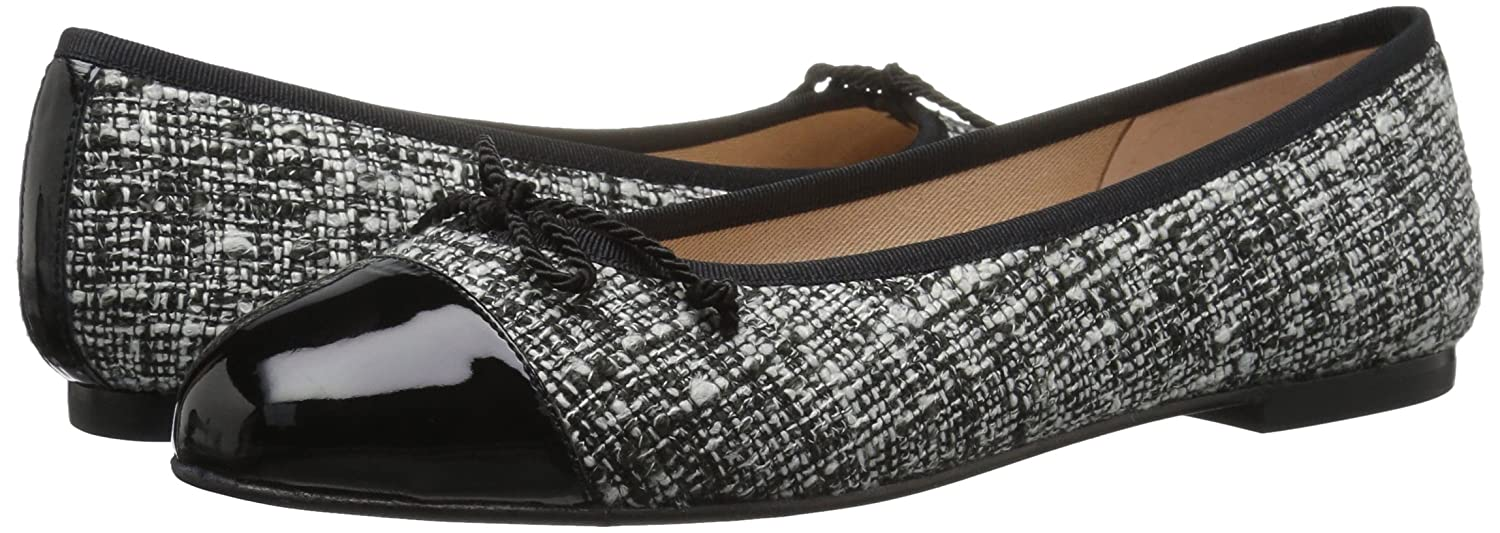 French Sole FS/NY Women's Vanity B072BQP8Y6 8 B(M) US|Black/White