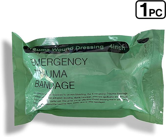 Israelische Armee Idf Kampf Medic Bandage Trauma Verband Notfall Ifak Vakuum