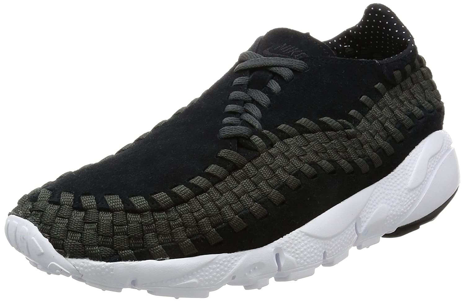 NIKE Men's Air Footscape Woven NM Casual Shoe B01N330CPC 12 D(M) US|Black/Black/Anthracite/White