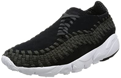 Nike Men s Air Footscape Woven NM Black Black Anthracite White Casual Shoe  8.5 d804fd18f443