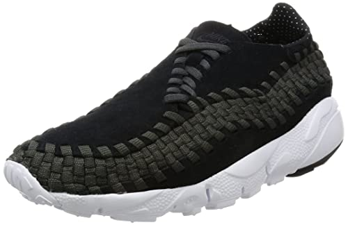 detailed look 232e2 2b938 Nike Men's Air Footscape Woven NM Black/Black/Anthracite/White Casual Shoe  11 Men US: Buy Online at Low Prices in India - Amazon.in