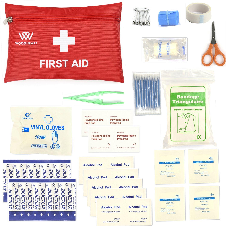 Botiquines de primeros auxilios Bolsa Médica Portátil Kit de primeros auxilios de