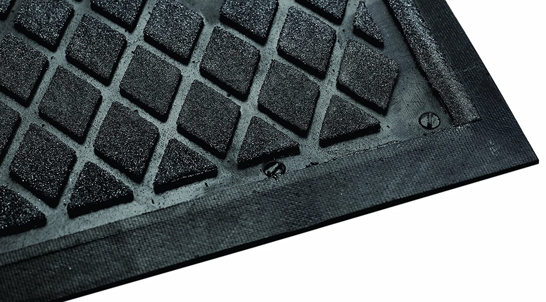 Andersen 4418 Traction Hog II Nitrile Rubber Slip-Resistant/Indoor Floor Mat, 5' Length x 3' Width, Black by The Andersen Company B00BTMBOLC