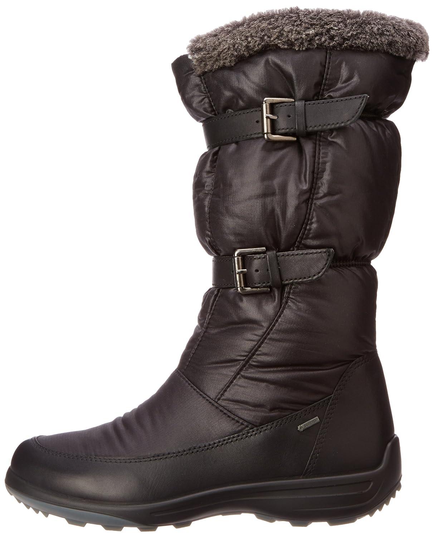 96aebb5523 Amazon.com | ECCO Women's Voyage GTX Buckle Boot | Mid-Calf