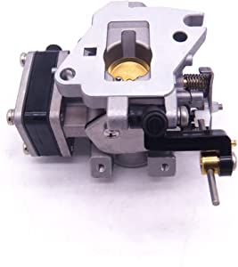 Boat Motor 6E8-14301-05 6E7-14301 684-14301 Carburetor Carb Assy for Yamaha 2-Stroke 9.9hp 15hp Outboard Engine