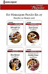 Kit Harlequin Harlequin Jessica Especial Mar.16 - Ed.27 (Kit Harlequin Jessica Especial)
