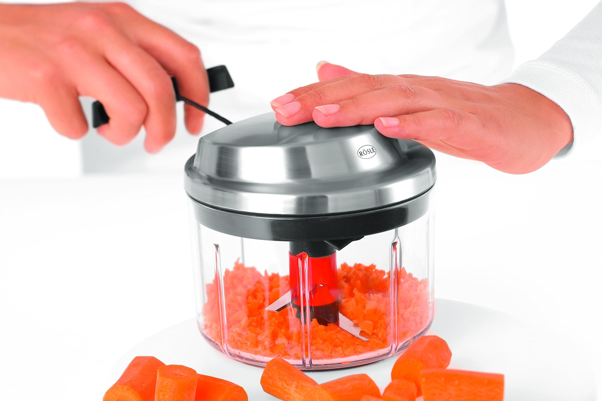 Rösle Manual Multi-Cutter with Spin-Drying Herbs Basket by Rosle (Image #5)