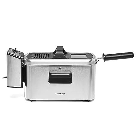 Freidora de 3 litros de Capacidad - Deep Fat Fryer Zona fría – Filtro de seguridad