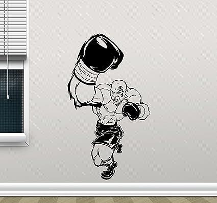 I Love Boxing Sticker U S Custom Stickers