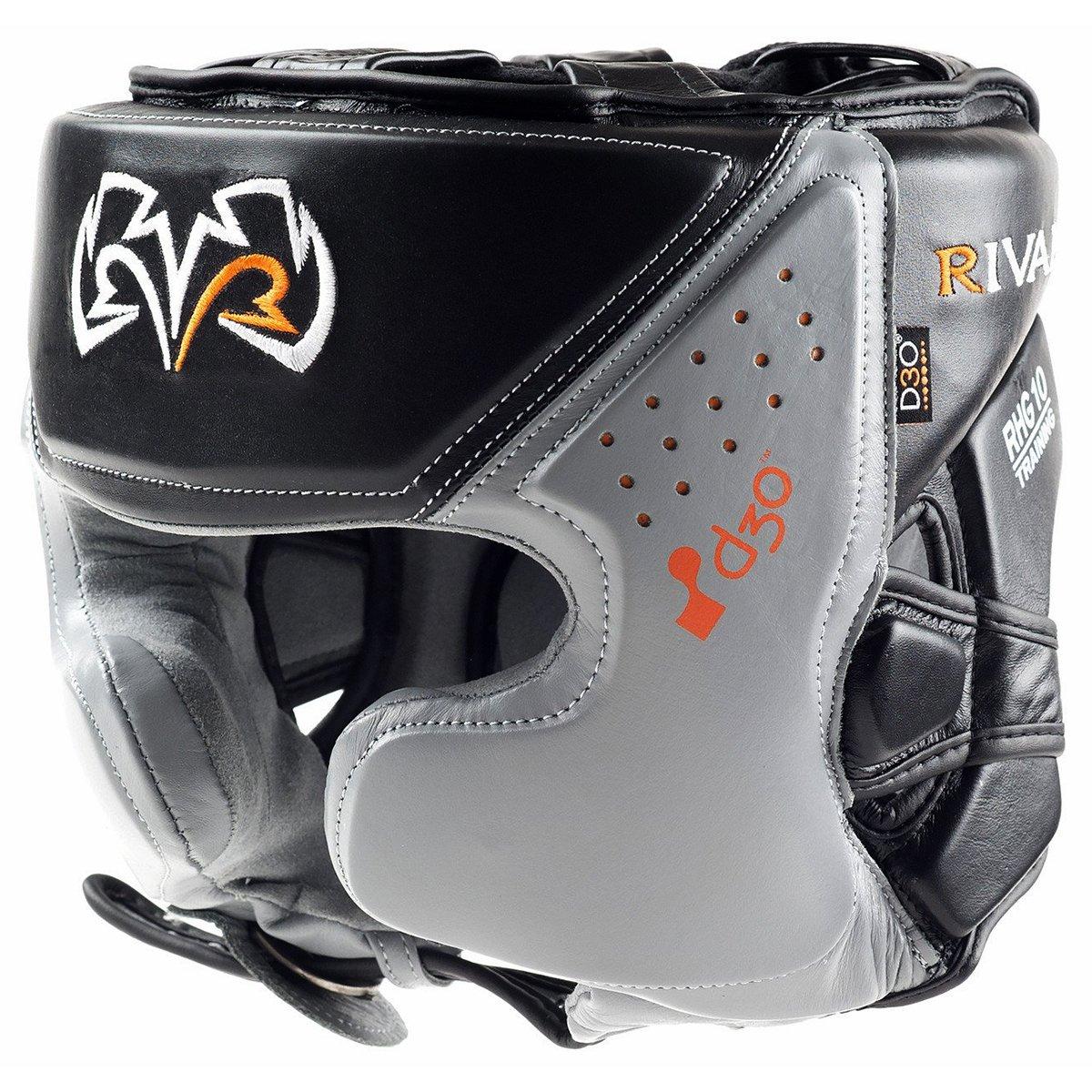【送料込】 Rival Boxing rhg10 intelli-shock d30 Headgear – rhg10 Boxing ブラック/グレー d30 XL B01IHZUQJ4, 賀茂村:8c21c0ca --- a0267596.xsph.ru