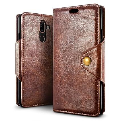 Amazon.com: Nokia 7 Plus Funda, SLEO magnético de cobre ...