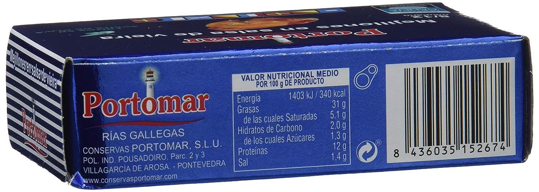 Mejillones de las Rías Gallegas en salsa de vieira -8-12 pzs ...