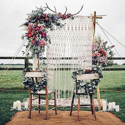 Cortina de flecos para puertas, cortina de fondo para bodas ...