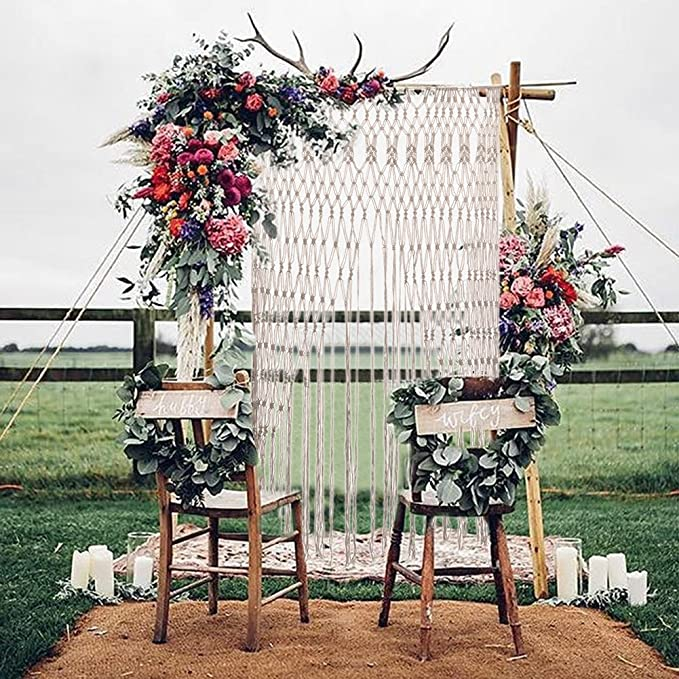 Pueri Macrame Wall Hanging Tapestry Wedding Party