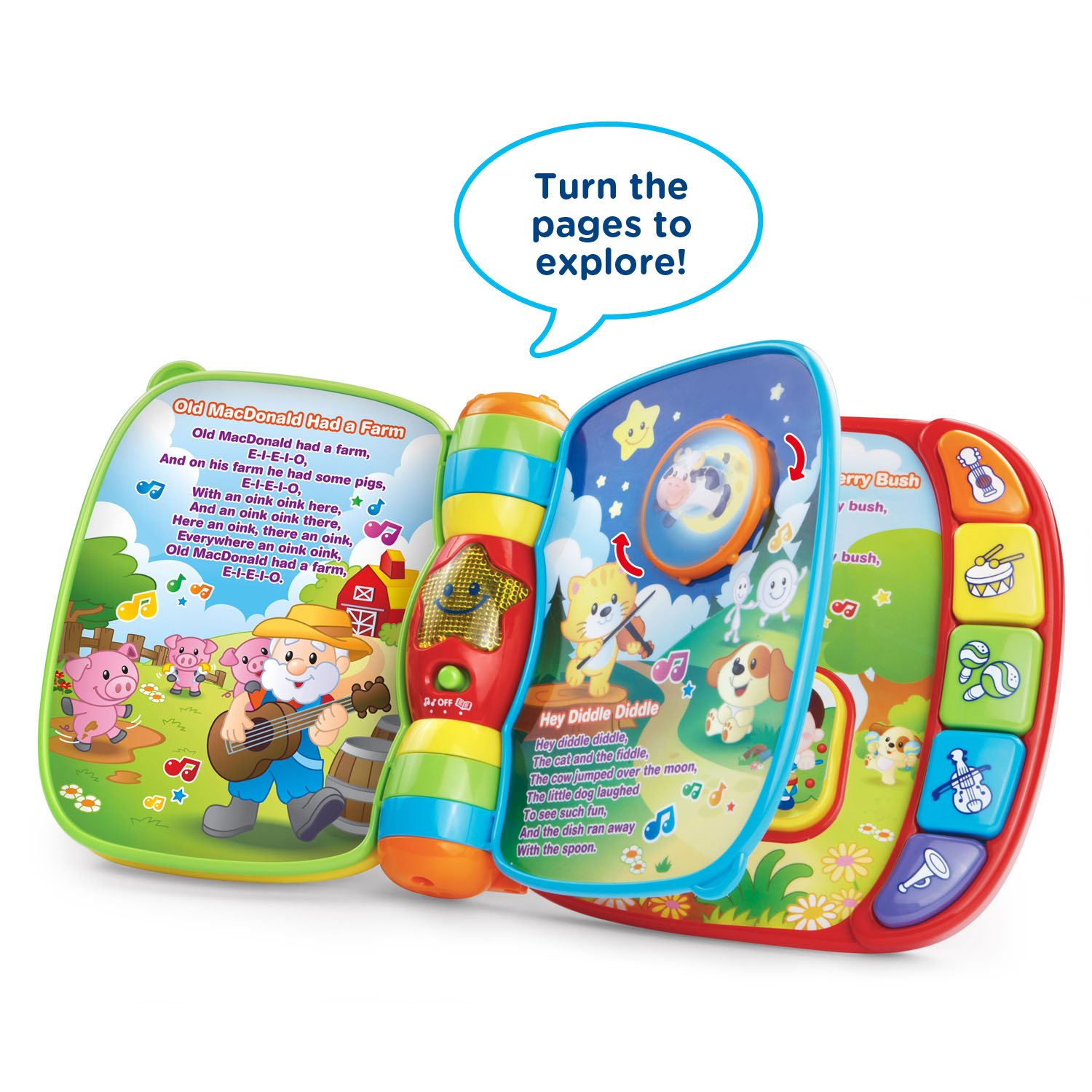 VTech Musical Rhymes Book by VTech (Image #2)