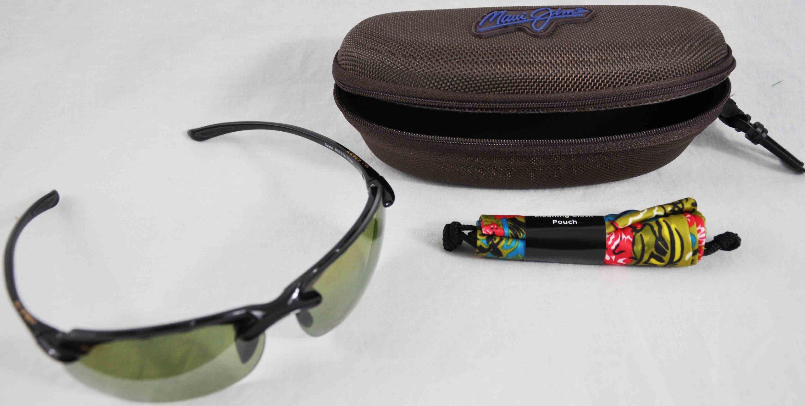 Maui Jim - Banyans Universal Fit - Gloss Black Frame-Maui HT Polarized Lenses