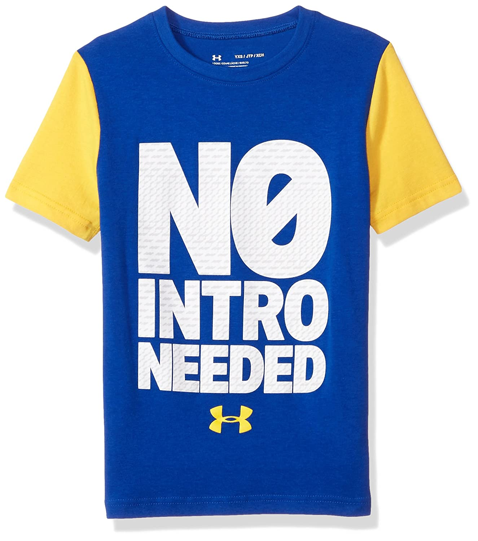 Under Armour Boys No Intro Needed T-Shirt Under Armour Apparel 1320178