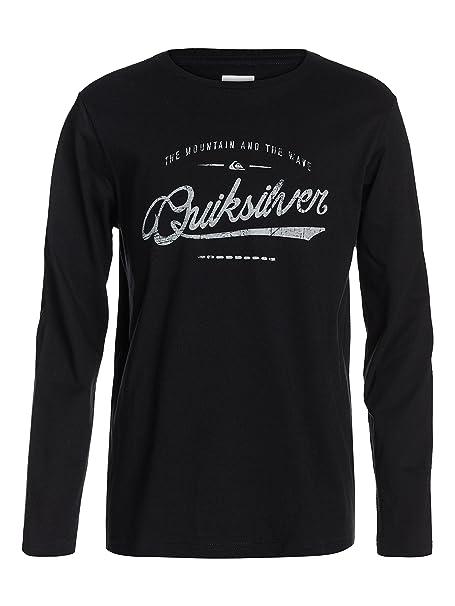 Quiksilver Camiseta para Niños  Amazon.es  Ropa y accesorios ef626b6071b