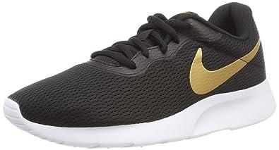 diseño atemporal 5a15c d5298 Nike Men's Zapatillas Tanjun Black/Metallic Gold White ...