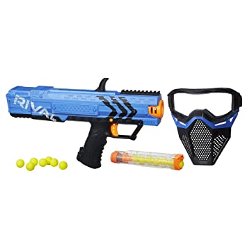 Nerf Rival Apollo XV-700 and Face Mask Blue