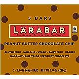 LÄRABAR Fruit & Nut Food Bar, Non-GMO, Gluten Free, Peanut Butter Chocolate Chip, 8 oz