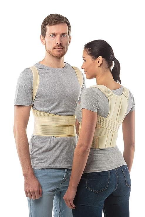 Corrector de postura cinturón de soporte de espalda de aHeal - Faja para espalda ortopédica médica corrector de columna vertebral para debajo de la ...