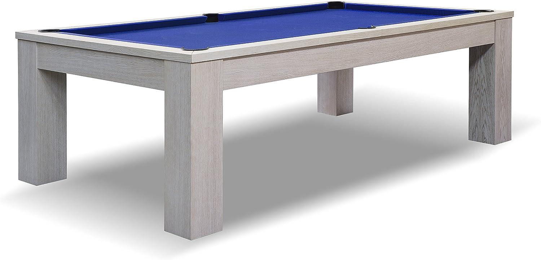 John West mesa de billar color blanco, 7 ft 230 x 130 cm Grande ...