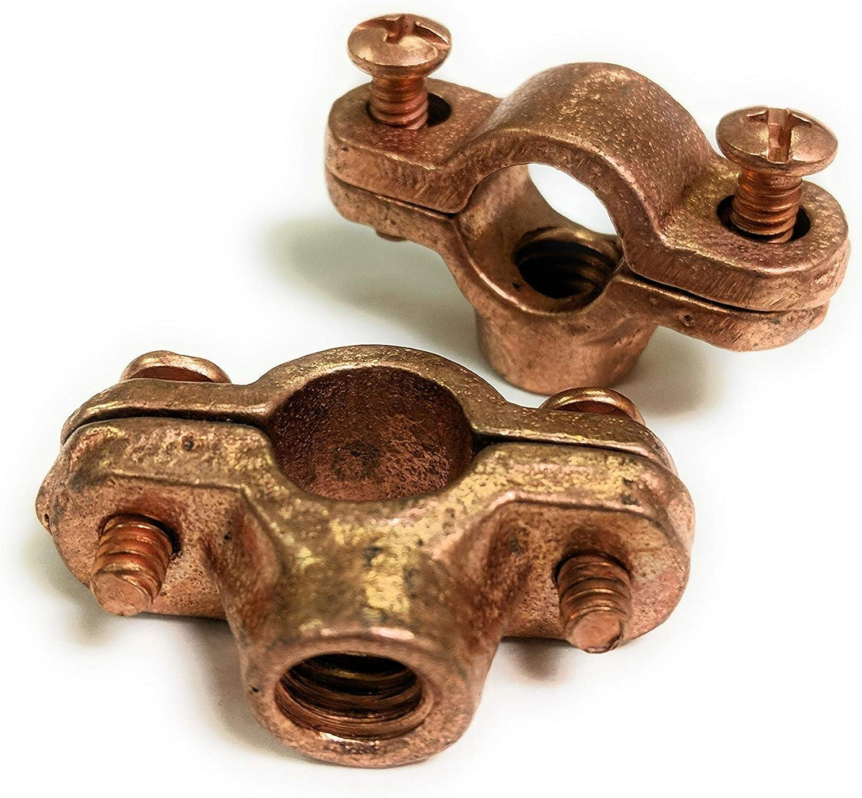 2 PACK ICS Industries 2-1//2 COPPER PLATED SPLIT RING HANGER