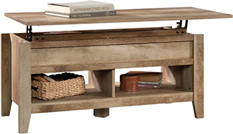Sauder 420011 Dakota Pass Lift Top Coffee Table L 43 15 X W