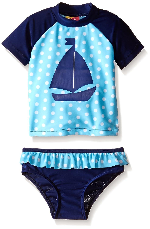 Sol Swim Girls Lots of Love Rashguard Set Solo International Inc Baby GS4-297