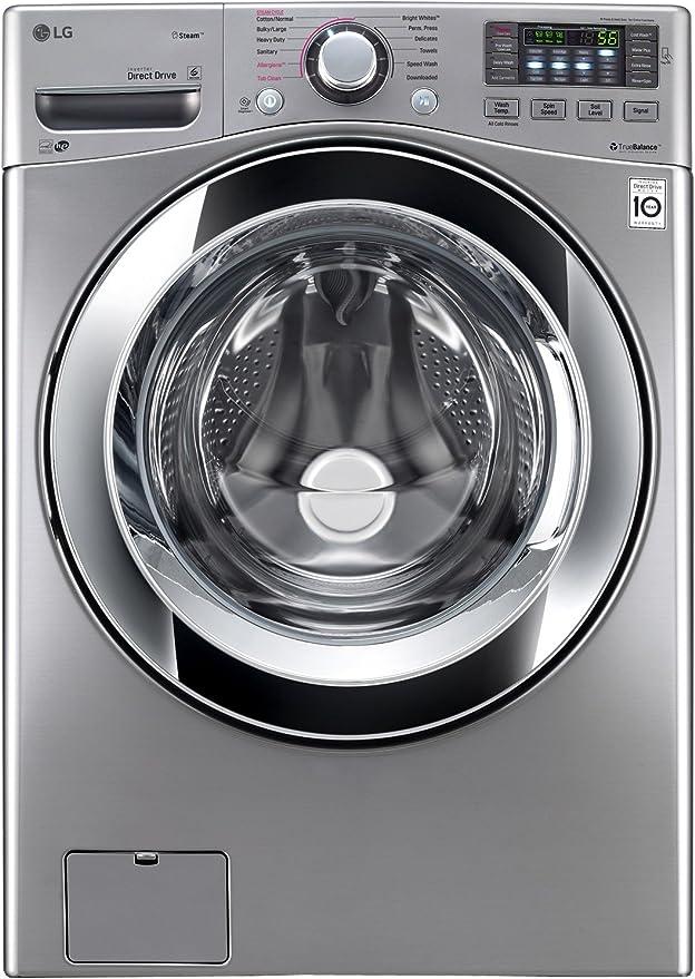 Amazon.com: LG wm3670hva 4,5 CU. FT. Grafito Acero Con Vapor ...