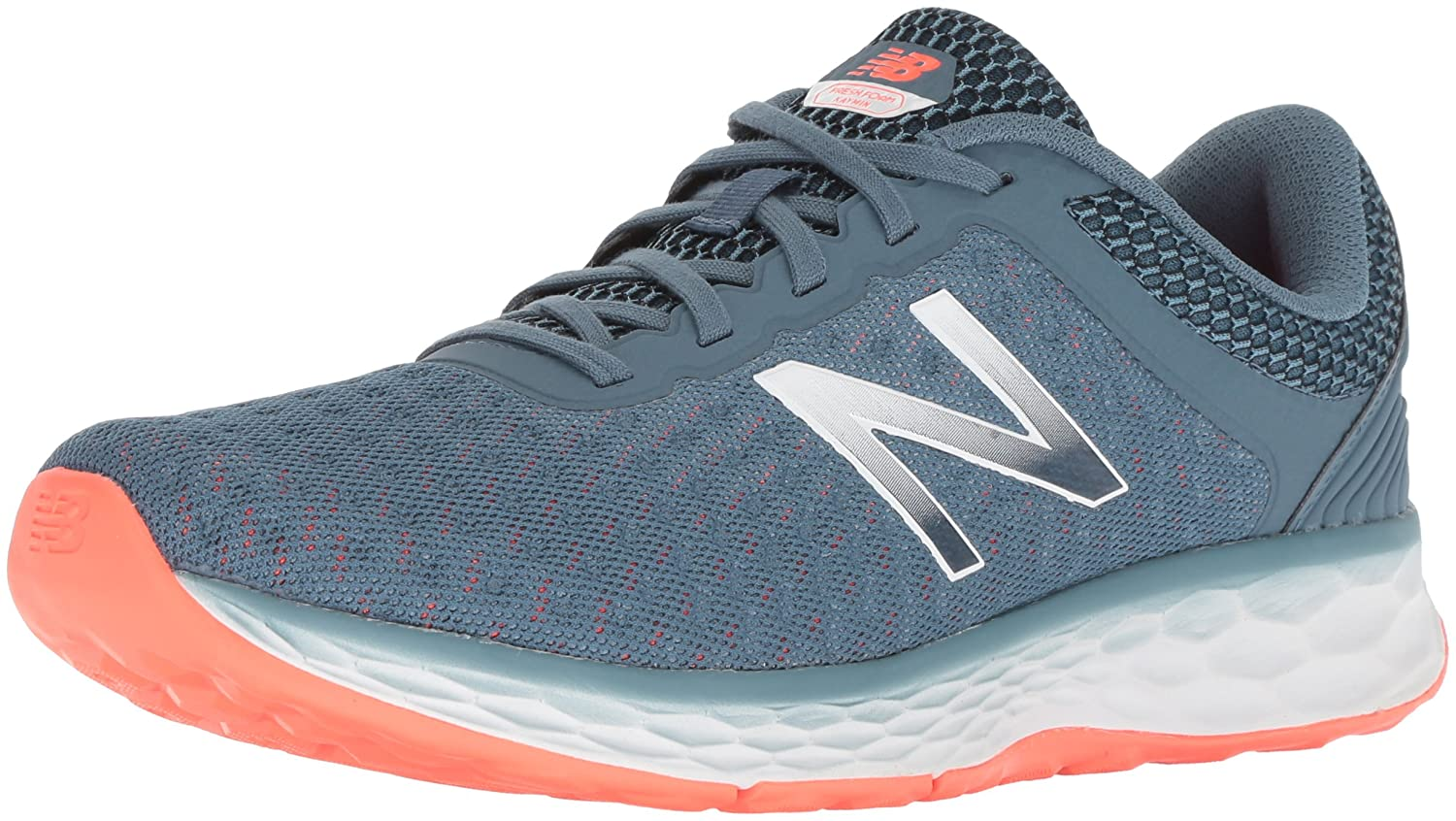 New Balance Women's Kaymin Trail v1 Fresh Foam Trail Running Shoe B075R84CTH 6.5 D US|Light Petrol