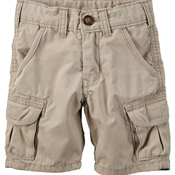 54a5862af Image Unavailable. Image not available for. Color: Carter's Baby Boys' Khaki  Cargo Shorts ...