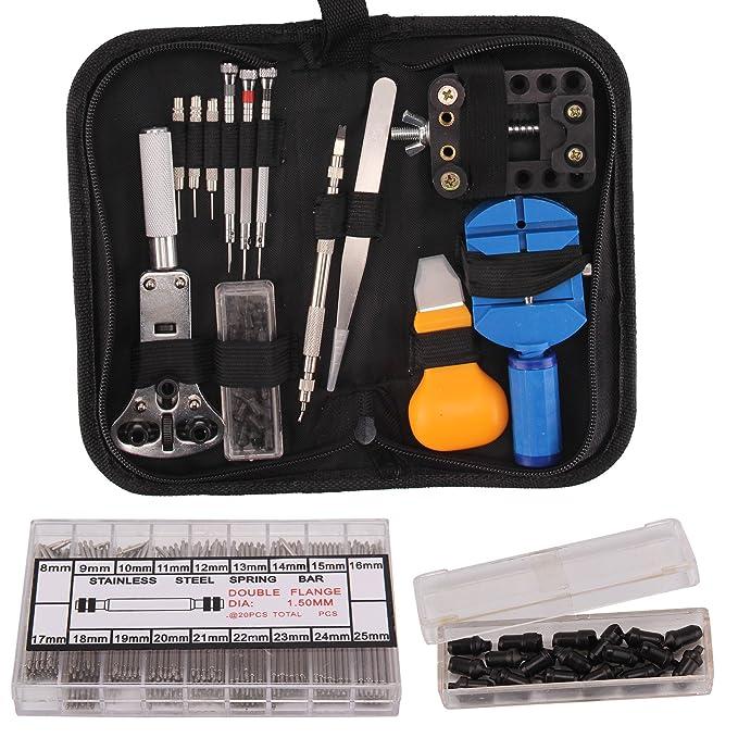 390tlg Uhrmacher Set Werkzeug Gehäuseschließer Gehäuseöffner Uhrmacherwerkzeug