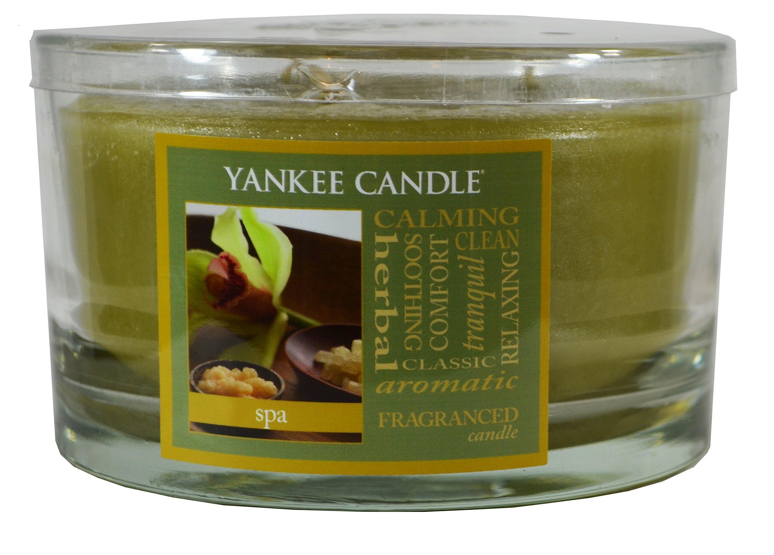 Yankee Candle 17 oz 3-Wick Dish Candle - SPA