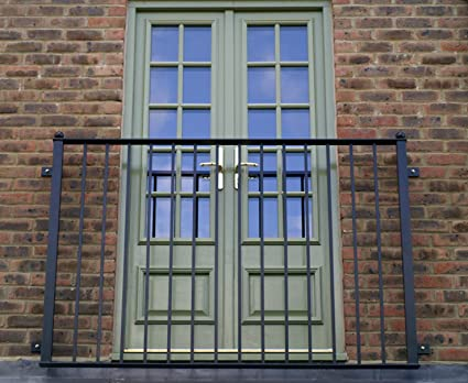 Wrought Iron Juliet Balcony Hand Made In The Uk 160cm Wide Amazon