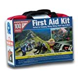 Small Travel First Aid Kit for the Car or Home in Soft Zipper Case (100 Pieces)