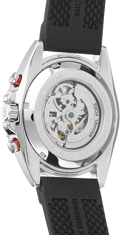 85e12d0dfbdd Amazon.com  Michael Kors Men s Jet Master Black Watch MK9013  Michael Kors   Watches