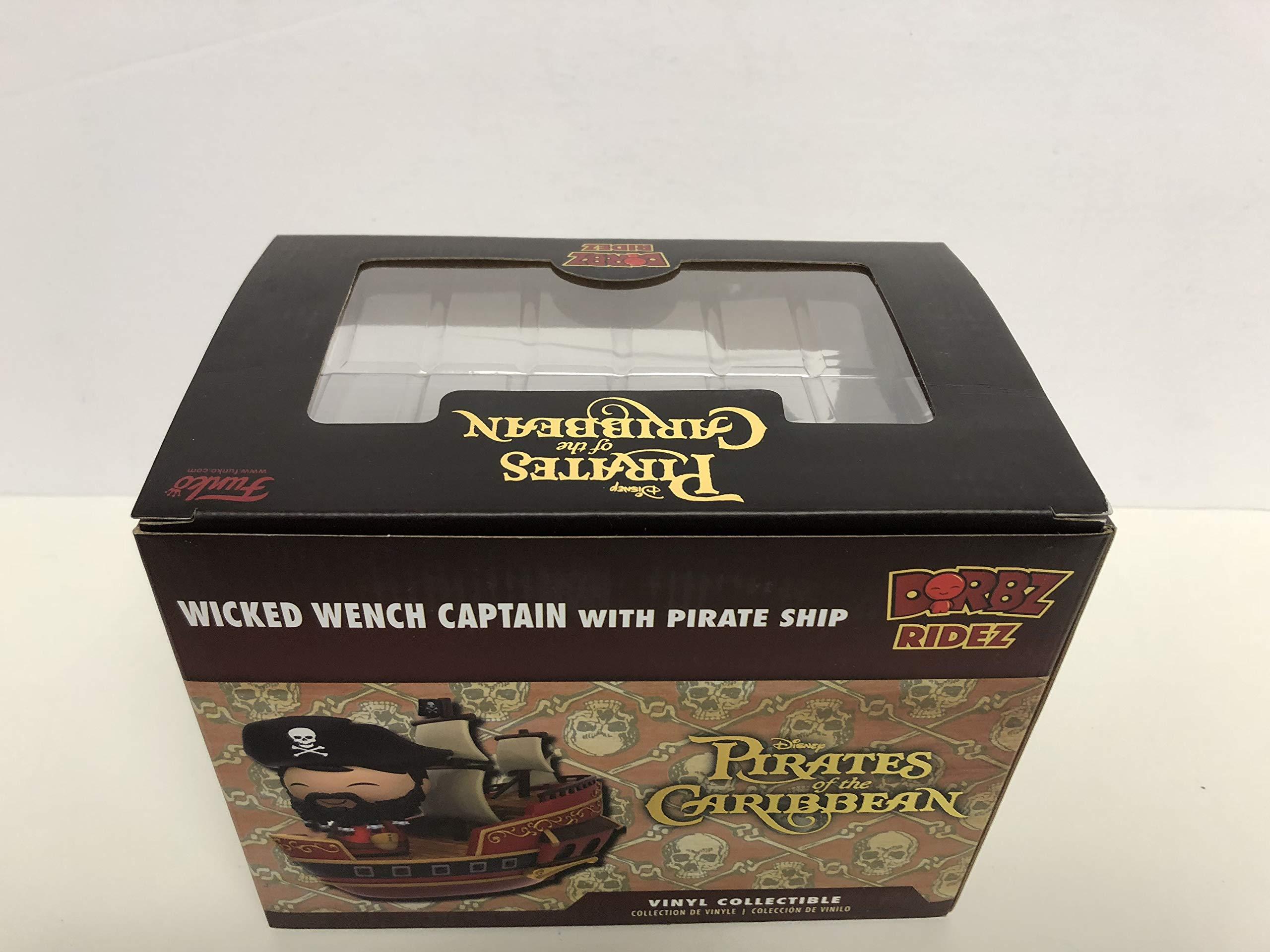 DORBZ RIDEZ Wicked Wench Captain with Pirate Ship vinyl collectible Funko Disney Treasures Exclusive