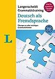 Langenscheidt Grammatiktraining Deutsch ALS Fremdsprache - Essential German Grammar in Exercises (German Edition…