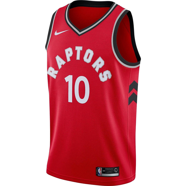a1126d27402 Amazon.com   DeMar DeRozan Toronto Raptors Nike Swingman Jersey Red Icon  Edition   Sports   Outdoors