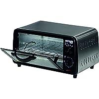 bastilipo Turin–Mini Four Grille-pain, capacité 9l, grille auto amovible, 800W, couleur noir