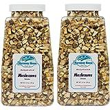 Harmony House Foods, Dried Mushrooms, Shiitake (4 Ounce Quart Size Jar) - Set of 2