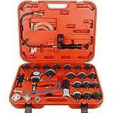 DAYUAN 28pcs Universal Radiator Pressure Tester and Vacuum Type Cooling System Kit