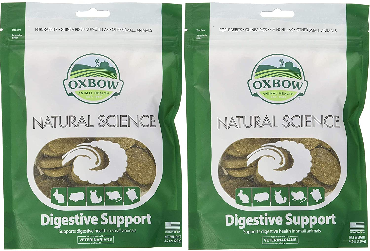 Oxbow Natural Science - Digestive Supplement, 60 Count