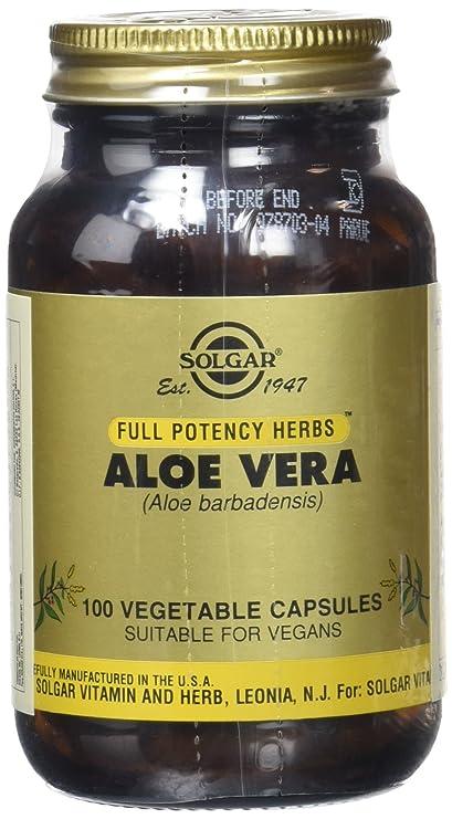 Solgar Aloe Vera - 100 Cápsulas