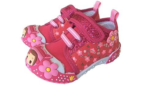Amazoncom Chulis Infant Baby Girl Pink Purple Black Sneakers