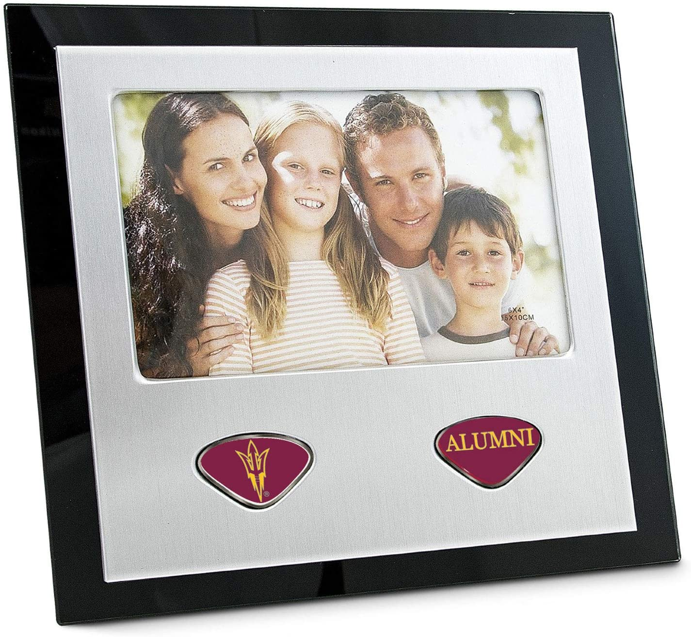 One Size Silver AdSpec NCAA Arizona State Sun Devils Collegiate Photo FrameCollegiate Photo Frame