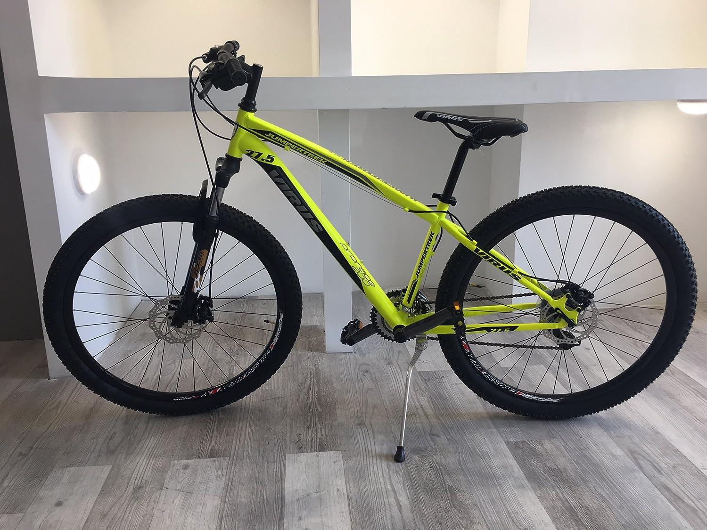 CINZIA Bicicleta Bicicleta Virus Amarillo Fluo 27,5 21 V H39 ...